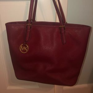Michael Kors Dark red bag
